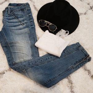 The Moto Skinny Jeans 👖